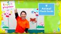 【英語であそぼ】Animal Flash Cards Part 1 幼児向け英語で覚える動物の名前 English playtime!