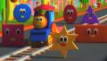 【列車のボブ】歌で「形」の名前を覚えちゃおう!/Bob, the train- Shape Song