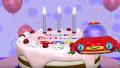【子ども向け考える知育アニメ】バースデーケーキをつくろう!
