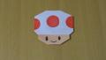 "【Origami】折り紙でつくる「スーパーマリオ ""キノピオ""」の折り方/origami mario characters ""Kinopio"""