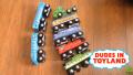 【おもちゃで幼児英語マスター】電車のおもちゃ動画で自然と英語耳をつくる!