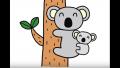 【楽しく絵描き歌】動物のお絵かき/ペンギン、犬、おさる、うし、ライオン、リス、猫、コアラ
