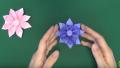 "【Origami】折り紙でつくるお花「ガーベラ」/flower""gerbera""origami3"