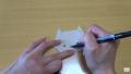 """【折り紙】おりがみでつくる簡単な「猫」の折り方/Origami Cute Animals """"Cat"""" easy"""