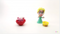 【コマ送りアニメ】FROZEN Elsa Play doh STOP MOTION videos: Disney Playdough Toy Eggs