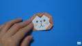 【折り紙】おりがみでつくる「猿(さる)」の折り方 / Origami Monkey