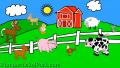 【英語を覚えよう!】動物の名前と鳴き声を覚えちゃおう!/Animals On The Farm – Animal Sounds