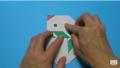 【折り紙】おりがみでつくる「雪だるま」の折り方/Origami Snowman