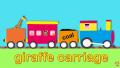 【英語アニメ】Trains for Children | Let's Build…a Steam Train | Toddler Fun Learning