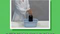 【おもしろ実験レシピ】炭酸水(コーラ)にラムネを入れよう!